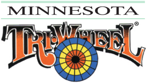 Logo for the oldest Minnesota wheel game currently in play