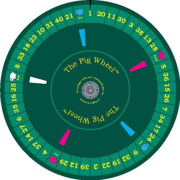 Gambling paddle wheel game craps at blue heron casino